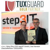 step3IT ist neuer TUXGUARD-Gold-Partner