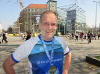 Rasender Krebsforscher: Professor Dr. Hans G. Drexler absolvierte seinen 600sten Marathonlauf
