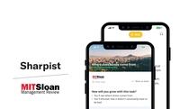 MIT Publikation schließt Partnerschaft mit Coaching App Sharpist
