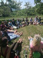 Gesunde Gemeinde Eningen: Zu schoen, um nicht weiter zu wandern