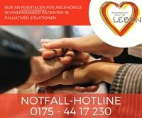 Feiertags-Hotline für pflegende Angehörige Schwerkranker