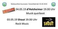 Maibaumfest in Affing-Haunswies vom 01.05. bis 04.05.2019