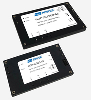 HGPower GmbH stellt auf PCIM 2019 neue Serie von Brick-Power-Supply-Modulen vor