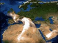 showimage Wüstenstaub über Europa: Wie Copernicus Vorhersagen Energiebetrieben helfen