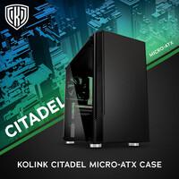 BRANDNEU bei Caseking: Kolink Citadel - das ideale Case für Stilbewusste, die starke PCs lieben.