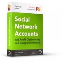 """Social Network Account """"Einstiegspaket"""" von Nabenhauer Consulting: Accounts vom professionellen Team erstellt und optimiert!"""