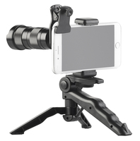 Somikon Vorsatz-Tele-Zoom-Objektiv CVL-250.zoom 4x - 12x