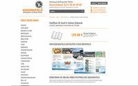 Flyer DL hoch 6 Seiten Zickzackfalz - schon ab 129 Euro