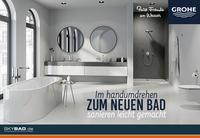 Im Handumdrehen ein neues Bad