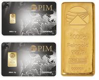 Goldbarrenstückelungen