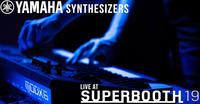 Yamaha bringt spannende Musik-Acts und volles Synth- und E-Drum-Line-up anspielbereit zur Superbooth 2019