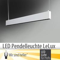 LED Pendelleuchte LeLux: blendfrei, lichtstark und wartungsarm
