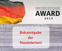 SmartHome Deutschland Award 2019 - Die Nominierten stehen fest!