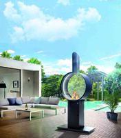 Design mit Feuer: Gaskamin veredelt Garten und Terrasse