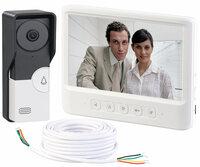 Somikon Video-Türsprechanlage mit Öffner VSA-600.rec
