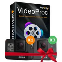 Digiarty verlost GoPro Hero7 und Gratis-Lizenz von VideoProc