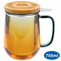 Teeglas - trendiger Teegenuss - jederzeit und überall