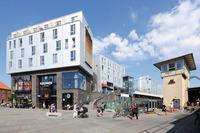Leben über den Dächern Kopenhagens - Fassadenrinnen halten modulare Wohnhäuser trocken