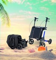 showimage Senioren reisen immer mehr - Reiserollator TOPRO Odyssé bietet sichere Unterstützung bei Mobilitätseinschränkungen