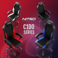 JETZT bei Caseking: Nitro Concepts C100 - Dynamisches Design trifft auf hohen Komfort