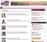 DFPA-Gastbeiträge bieten Hintergrundwissen führender Finanzexperten