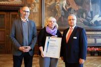 showimage Hermes Fulfilment in Netzwerk für nachhaltiges Wirtschaften des Landes Thüringen aufgenommen