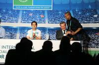 """Das Internationale Forum """"Fußball für Freundschaft"""" 2019 in Madrid vereinigte Experte für Kinderfussball aus verschiedenen Ländern"""