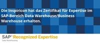 SAP zeichnet Inspiricon mit der Recognized Expertise für Data Warehousing aus!