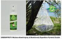 OutDoor 2019: Brettschneider stellt aktuelle Moskitonetze und Imprägnierspray GREENFIRST® vor