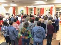 showimage Zeichen für Frieden, Solidarität und Hoffnung in Hofheim
