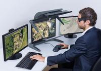 3D PluraView passive 3D-Monitore