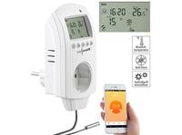 revolt WLAN-Steckdosen-Thermostat für Heizgeräte