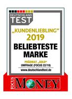 "Fingerhut Haus ist ""Kundenliebling 2019"": Prädikat GOLD in FOCUS MONEY-Umfrage erzielt"