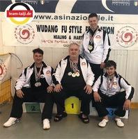 Medaillenregen für das Team-Taiji Deutschland bei der Europameisterschaft in Italien