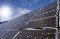 Weiß-blauer Solarstrom-Rekord an Pfingsten