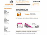 Fahrzeugwerbung Lieferwagen 3 Seiten - schon ab 379 Euro