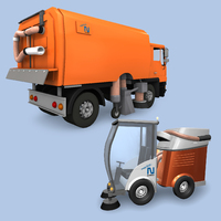 showimage Im Einsatz an Kehr- und Reinigungsmaschinen