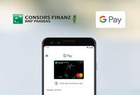 Consors Finanz startet Google Pay in Deutschland