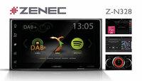 Konsequent modern - ZENECs 2-DIN Infotainer Z-N328