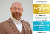 showimage BNI-Hannover von ProvenExpert gleich zweimal ausgezeichnet