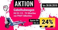 Aktion: Weniger schwitzen mit Hubwagen von PFAFF