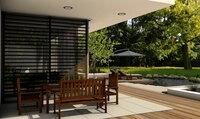 Flexibel kombiniert: Gutjahr-Rahmensystem ermöglicht Terrassenbeläge aus Keramik und Holz