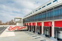 Schnelllaufende Tore für Budweiser