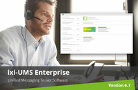 Unified Messaging Server ixi-UMS 6.70 Enterprise now available