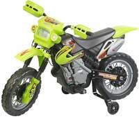 Playtastic Kinder-Elektromotorrad EKM-50 mit Stützrädern