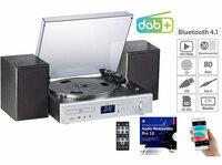 auvisio Plattenspieler/Digitalisierer MHX-620.dab