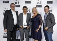 Auszeichnung: M. u. W. Schlecker Elektrische Anlagen gehört zu den TOP 100