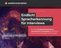 Neue KI wandelt Interviews automatisch in Text
