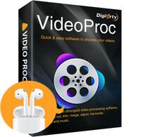 Gewinnspiel bei Digiarty - VideoProc bewerten, Airpods 2 gewinnen