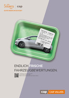 Wie aus dem Kühlregal: Frische Werbung für frische Fahrzeugbewertung